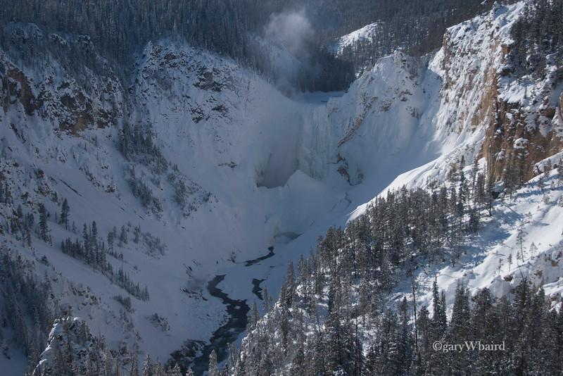 Frozen Upper Falls
