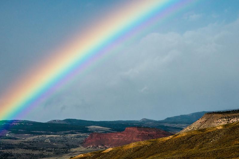 Cody, WY Rainbow