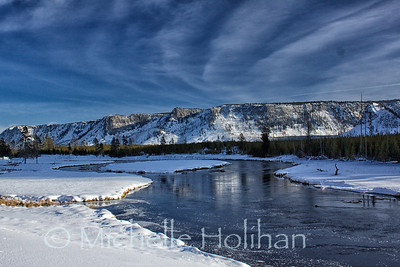 Madison River in Winter