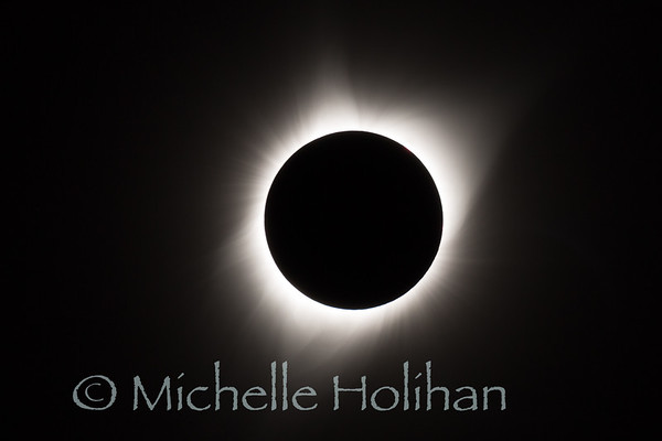 Total solar eclipse from Grand Teton National Park, WY