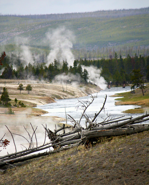 Yellowstone River Thermals