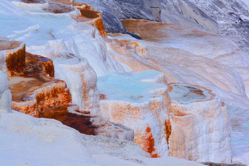 ~ Mammoth Hot Springs ~