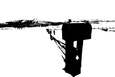 Mailbox, Lamar Valley