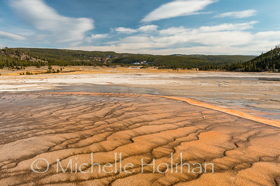 Bacterial Mat at Grand Prismatic Hot Spring