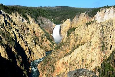 Yellowstone Canyon Falls