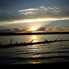 Lewis Lake Sunset Near Yellowstone