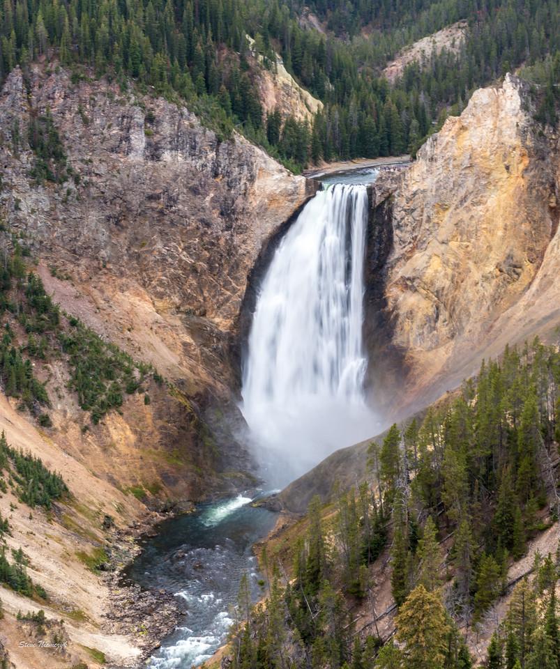 Lower Falls at Yellowstone Grand Canyon
