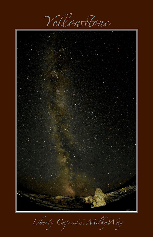 """ Ascension ""     ______  1073Kvb<br /> Liberty Cap and the Milky Way<br /> <br /> Any image may be ordered with a custom border and custom caption of your own choosing<br /> along with a printed 'Robert Howell' signature.<br /> <br /> This unique image is fused directly onto a specially treated, rigid piece of Aluminum.<br /> More archival and lighter than a framed paper print, it arrives ready to hang.<br /> The Float-Mounted MetalPrint™ needs no frame and<br /> will appear to float 3/4"" from your wall.<br /> <br /> Archival paper prints are also available<br /> ------- Contact us for more information -------<br /> moreinfo@RobertHowellPhotography.com"
