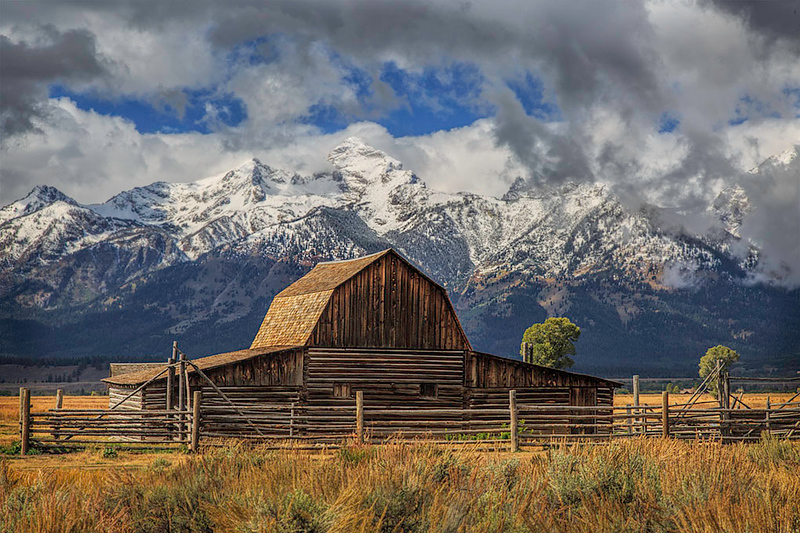 Grand Tetons (Old Cabin)