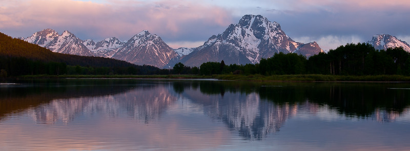 From an early morning photo shoot at the Oxbow Bend turnout in Grand Teton National Park