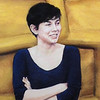 """""""Miss Peanut"""" (pastel) by Jodie Kain"""