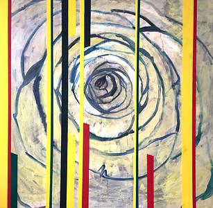 """Rays of Light 1"" (oil on canvas) by Svetlana Demina"