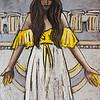 """Palmyra"" (paper,acrylic paints,soft pastel) by Anastasiya Redina"