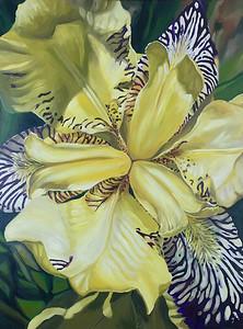 """""""Exuberance"""" (acrylic on canvas) by Sara Bardin"""