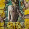"""Sacrificial"" (paper,acrylic paints,soft pastel) by Anastasiya Redina"