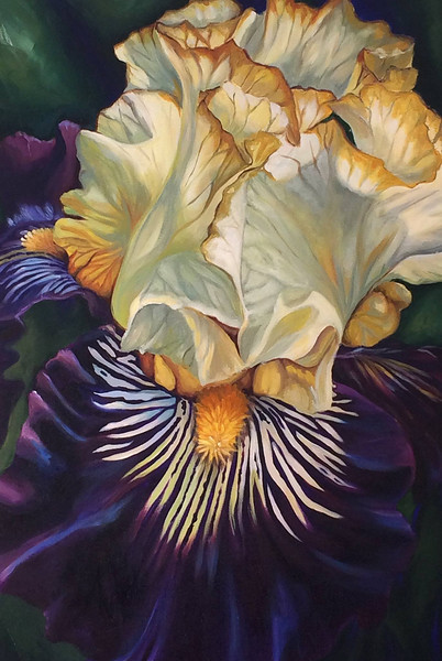"""Joy"" (acrylic on canvas) by Sara Bardin"