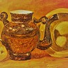 """Still Life in Yellow"" (oil on canvas) by Irina Titova"