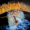 """""""The Magician"""" (oil on canvas) by Marina Mariarty"""
