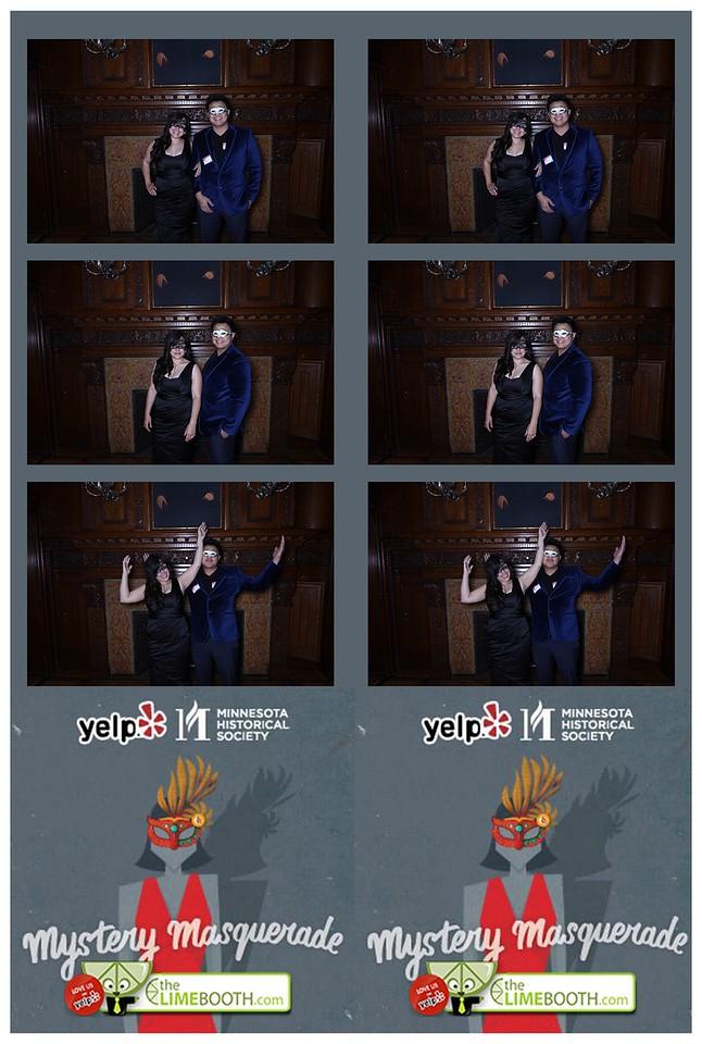 Yelp's Masquerade ball