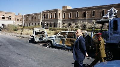2013-12-09 Yemen Sanaa Hospital Bombing etc