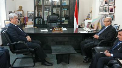 2013-12-10 Yemen Sanaa Visit DFA Undersecretary Jesus Yabes