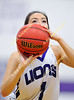 Yerington Lions Girls Varsity Basketball vs. North Tahoe Lakers at Yerington High School, January 5, 2018.