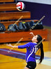 Incline Village Highlanders @ Yerington; JV Volleyball action.