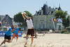 Yes But Nau 2012.<br /> Finale Open. Magic Disc vs Love & Married.<br /> Plage du Nau.  Le Pouliguen<br /> PhotoID : 2012-05-28-0153