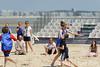 Rencontre d'ultimate UNSS/Frisbeurs Nantais. Dans le cadre du tournoi 'Yes But Nau'.<br /> Plage du Nau.  Le Pouliguen<br /> PhotoID : 2012-05-23-0022