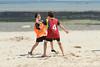 Rencontre d'ultimate UNSS/Frisbeurs Nantais. Dans le cadre du tournoi 'Yes But Nau'.<br /> Plage du Nau.  Le Pouliguen<br /> PhotoID : 2012-05-23-0034