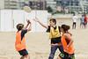 Rencontre d'ultimate UNSS/Frisbeurs Nantais. Dans le cadre du tournoi 'Yes But Nau'.<br /> Plage du Nau.  Le Pouliguen<br /> PhotoID : 2012-05-23-0016
