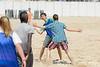 Rencontre d'ultimate UNSS/Frisbeurs Nantais. Dans le cadre du tournoi 'Yes But Nau'.<br /> Plage du Nau.  Le Pouliguen<br /> PhotoID : 2012-05-23-0028