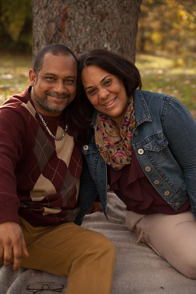 Yesenia and Family Fall 2014