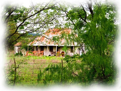 Art of Yesterdays Old Farm