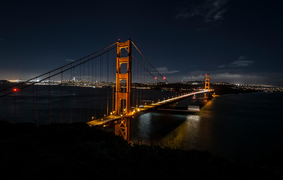 Golden Gate Bridge in San Francisco, Caliornia