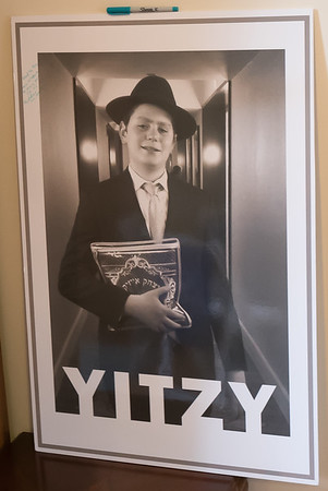 Yitzy Singer Bar Mitzvah-April 20, 2018