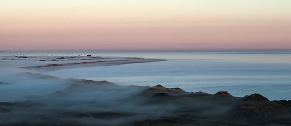 Lild Strand, Foggy May morning