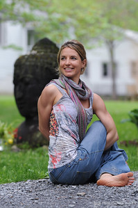 Sheree Ferreira at Jivamukti Teacher Training
