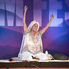 The beloved Kundalini teacher Gurmukh leads a class at Sat Nam Festival