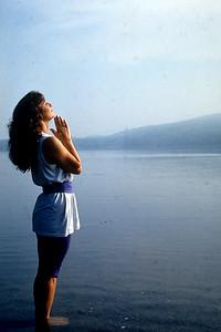 A Woman Does Yoga at Kripalu Center for Yoga and Health (Stockbridge, MA)