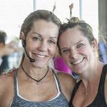 Betsy Jones of Betsy\'s Hot Yoga and Sarah Smith of 502 Power Yoga.