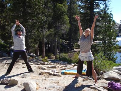 Yoga at Long Lake 09-15-2013