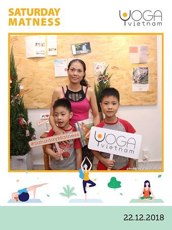 YogaVietnam Saturday Matness instant print photo booth - Chụp hình in ảnh lấy liền Sự kiện & Tiệc cưới - WefieBox Photobooth Vietnam
