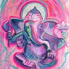 Whitetop Yoga Ganesha Pink