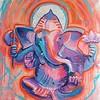 Whitetop Yoga Ganesha Orange
