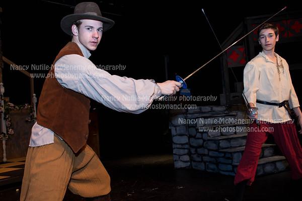 Yoh Players-Three Musketeers Rehearsal