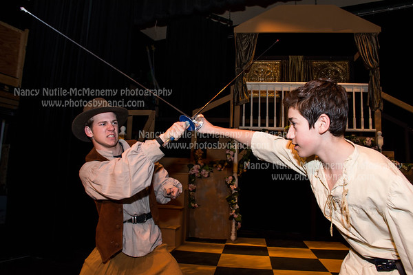 Yoh Players-Three Musketeers Rehearsal