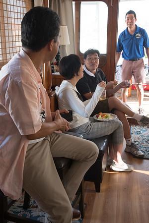 Yokkaichi Mayor's visit Vaughn's Ship