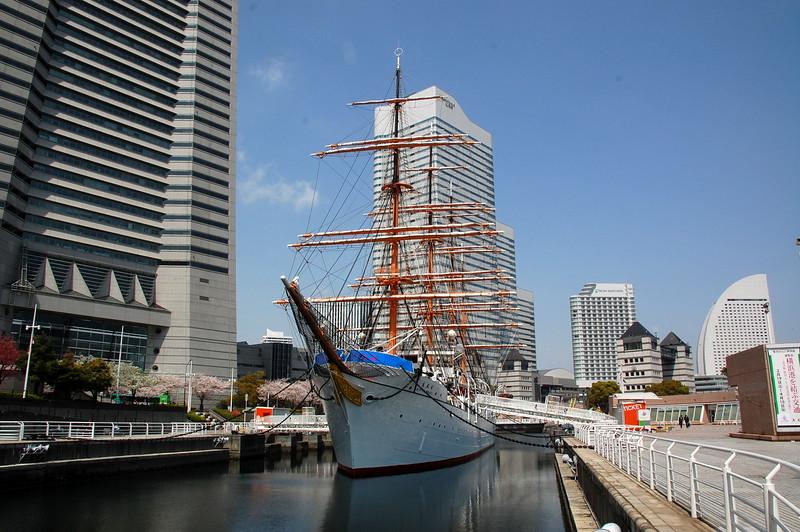 The Nippon Maru sail training ship
