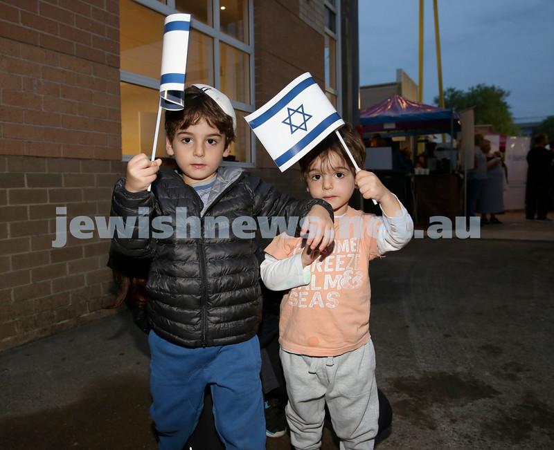 Yom Haatzmaut Fair at Moriah College. Pic Noel Kessel.